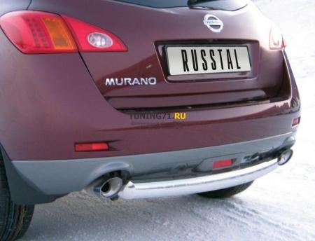 NISSAN Murano 2010 защита заднего бампера d76 NMZ-010315